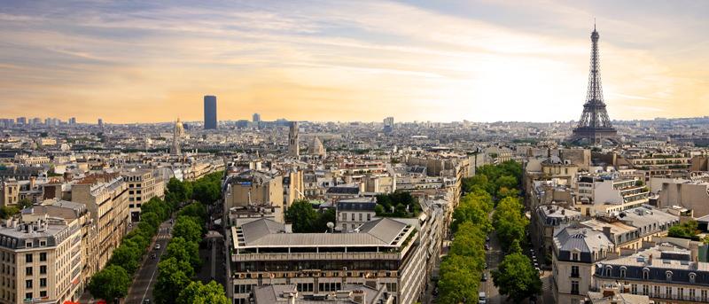 Paris mit dem Eifelturm