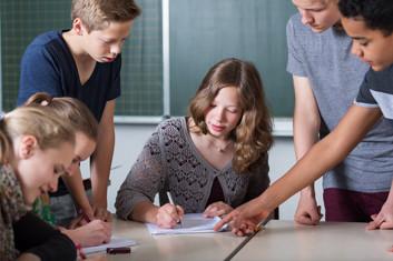 Unterricht zur Vorbereitung der DELF-Prüfung