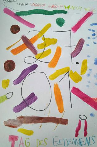 Junge Künstler - Tag des Gedenkens