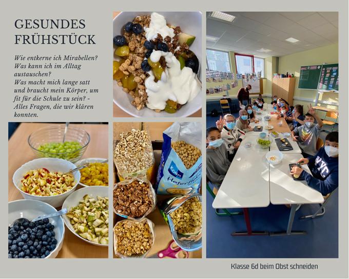 Gesundes Frühstück, Klasse 6 d, AFR-Mainz