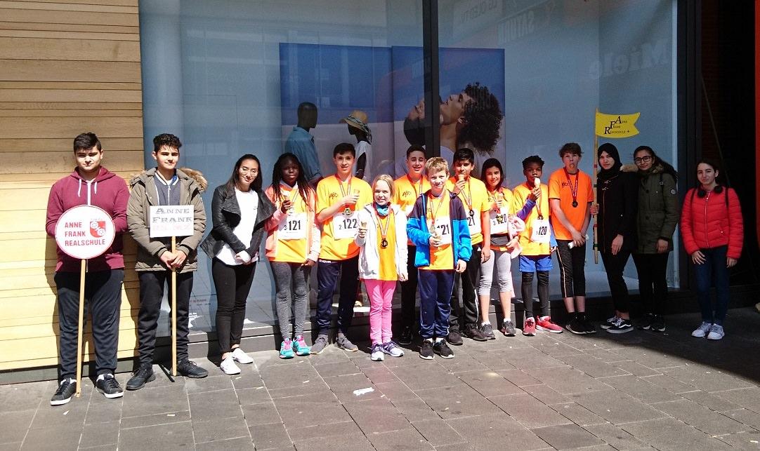 Gutenberg-Marathon Nr. 2 2019, Anne-Frank-Realschule plus Mainz