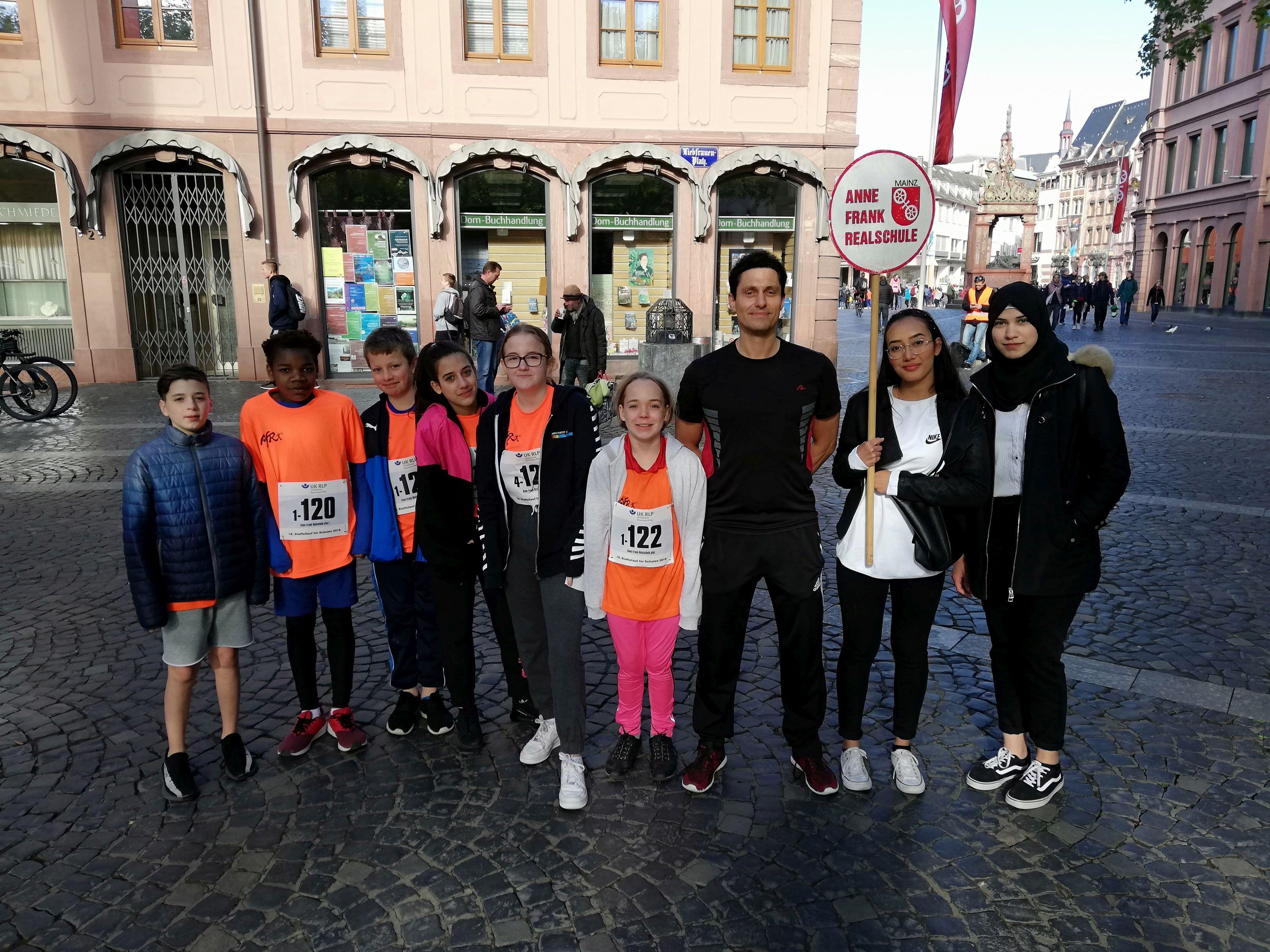 Gutenberg-Marathon 2019, Anne-Frank-Realschule plus Mainz