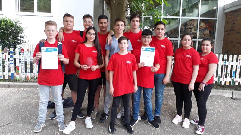 Kreiswettbewerb der Schulsanitäter 2019, Anne-Frank-Realschule plus Mainz