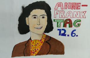 Bild Anne-Frank, 2020 von Jad Mohamed, 6 c
