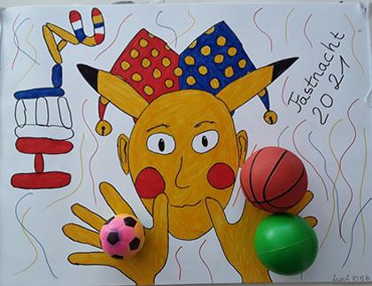 Junge Künstler - Luca Lavizar, Klasse 5 b